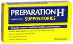 Preparation H Suppositories