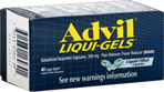 Advil Liqui-Gels blue