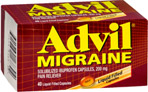 Advil Migraine Liquid-Filled Capsules
