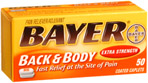 Bayer Back & Body Caplets