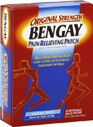 Bengay Pain Relieving Patches Large Size