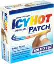 Icy Hot Medicated Patches Extra Strength Small